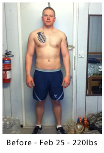 Luke - Before - Feb 25 - 220lbs