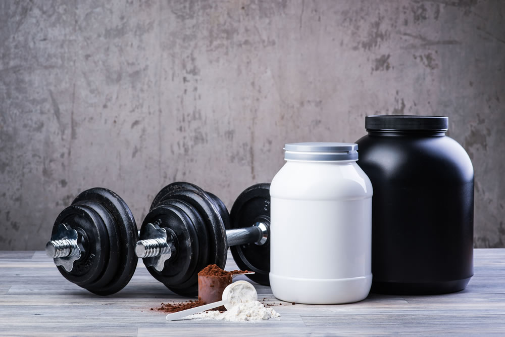 soy protein strength